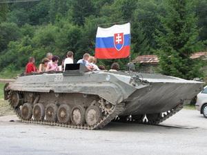 Jazda na tanku, tankodrom Podbiel